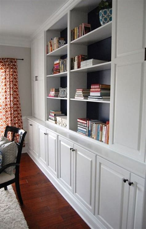 bookcases   bottom section lots  storage