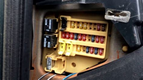 dodge durango fuse box location youtube