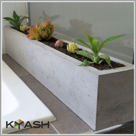 Window Sill Garden Planters by Pin By Leslie Matlock On Into The Woods Concrete