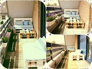 Paletten Balkon. kreative paletten ideen f r garten und balkon ...