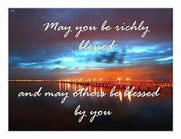 Image result for pictures of god richly blessing someone