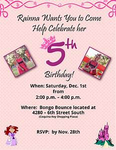 5 Year Old Birthday Invitation Wording DolanPedia Invitations Template