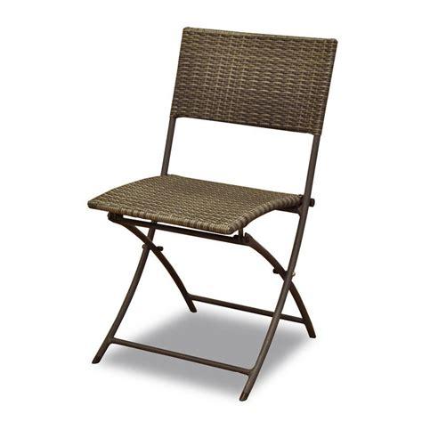 chaise en résine tressée chaise en alu et résine tressée dolly coloris marron