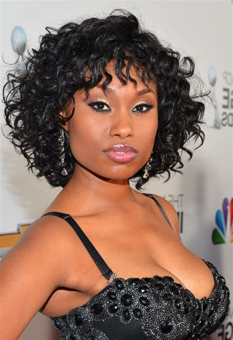 Short Curly Hairstyles For African American   HAIRSTYLE