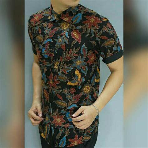 kemeja batik premium fesyen lelaki pakaian di carousell