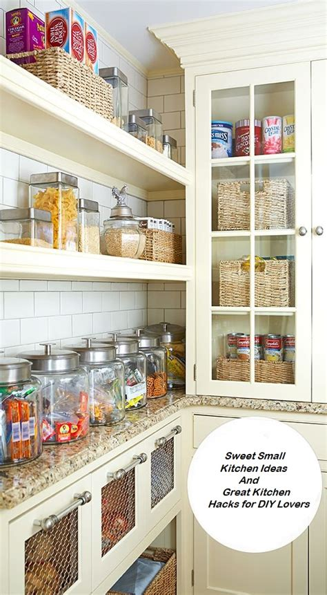 great ideas for small kitchens small kitchen ideas and great kitchen hacks for diy