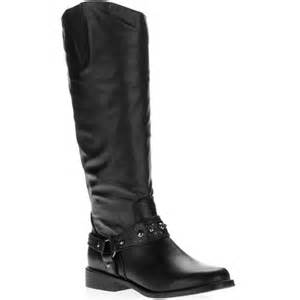 womens boots walmart l e i 39 s motorcycle boots shoes walmart com