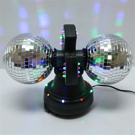 disco ball christmas lights twin mirror creative motion disco ball l with built