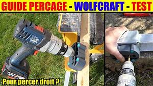 Guide De Perçage Wolfcraft : guide de percage wolfcraft 4685000 percer droit drilling ~ Dailycaller-alerts.com Idées de Décoration