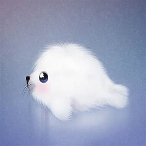cute seal #animals #cute #art | Cute Doodle | Pinterest ...