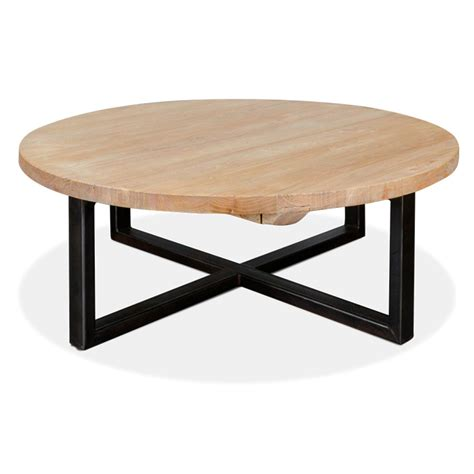 circle coffee table arthur reclaimed coffee table interior secrets