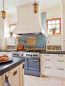 French Country Kitchen Tile Backsplash
