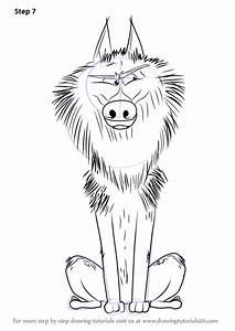 Cartoon Drawings Of Wolves Free Coloring Pages - Globalchin Coloring