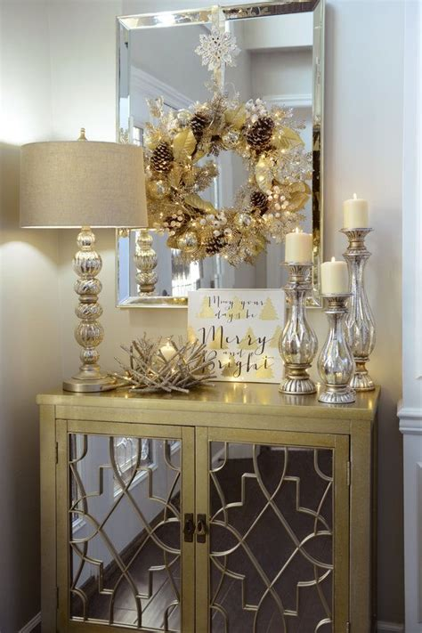 decorate  entryway  christmas winter