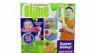 Nickelodeon Slime Super Slimy Kit Unboxing Toy Review DIY ...
