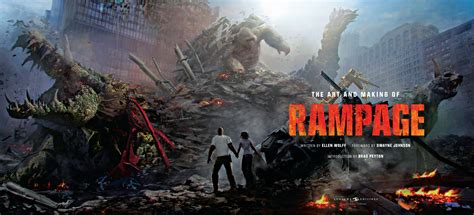 The Art And Making Of Rampage Reveals Behind-the-scenes