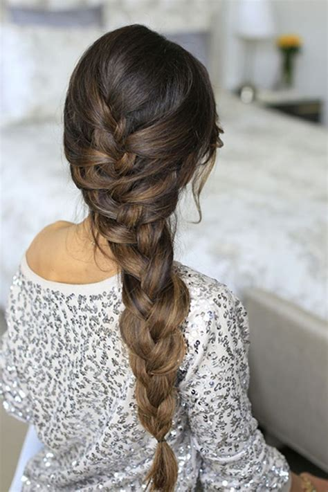 French Braid Hairstyles Side French Braid Long Hairstyle