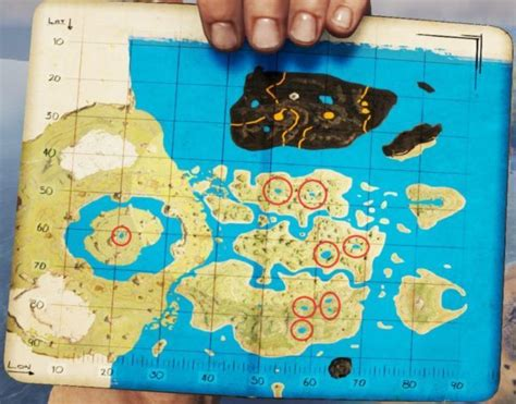 ark survival evolved  center map caves locations map