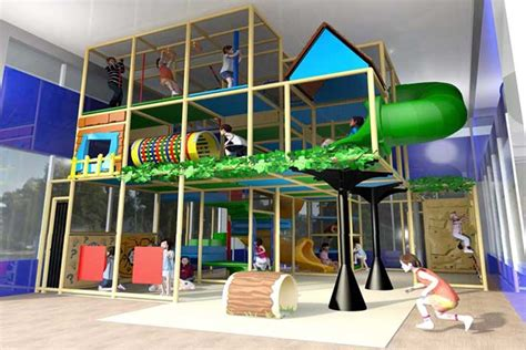 indoor play structure coming matt ross community center
