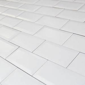 Carrelage Blanc Mat : carrelage mural m tro blanc mat carrelage m tro ~ Melissatoandfro.com Idées de Décoration