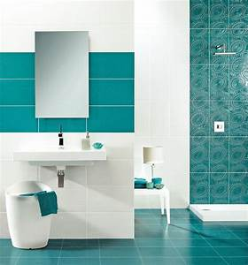 carrelage bleu turquoise salle de bain maison design With carrelage bleu turquoise salle de bain