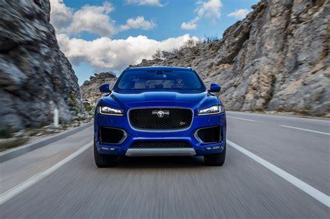 jaguar front 2017 jaguar f pace reviews and rating motor trend