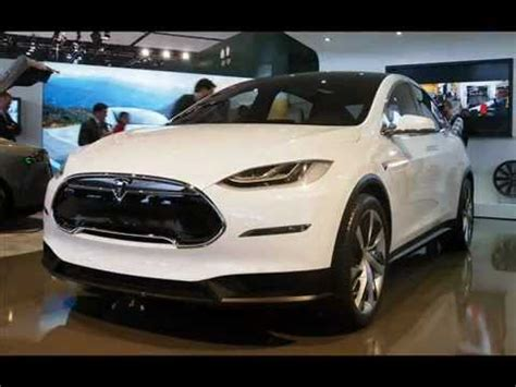 Tesla Suv Horsepower by 2014 Tesla Model X Live At The Detroit Auto Show 2013