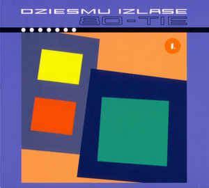 Dziesmu Izlase - 80-tie #1 (2005, CD)   Discogs