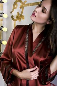 silk robe by la fee verte lingerie pinterest robe With robe bustier verte