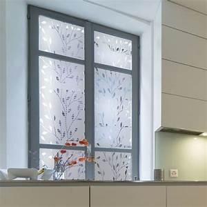 Film Adhesif Fenetre Ikea : sticker occultant pour vitre et fen tre branches design ~ Dailycaller-alerts.com Idées de Décoration