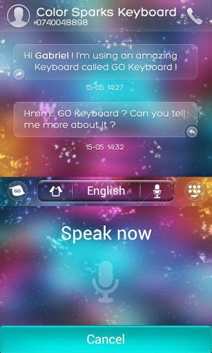 go keyboard color go keyboard color sparks theme for android free