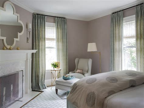 Bedroom Curtains Gray Walls