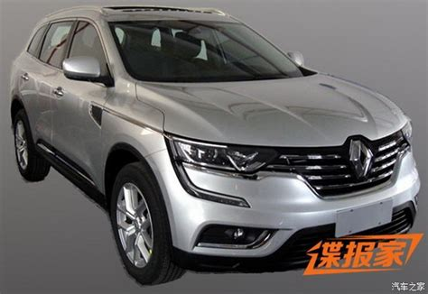 renault jeep 2017 new 2017 renault koleos suv this is it carscoops