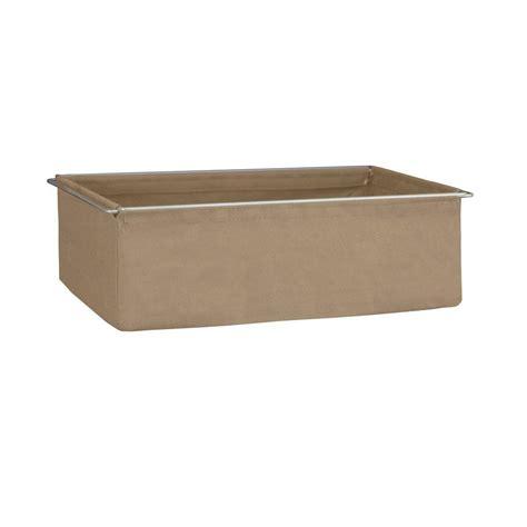 closetmaid fabric drawers closetmaid shelftrack 7 in h mocha fabric drawer with
