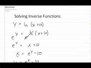 ︎² How to Find the Inverse of a Function (mathbff) Doovi