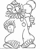 Coloring Pages Clown Printable Halloween Happy Clowns Clipart Colouring Circus Costumes Creepy Omega Alpha Cliparts Sheets Cartoon Fun Cat Faces sketch template
