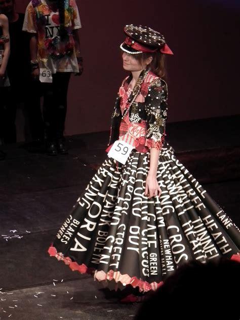 londonrose recycled fashion show