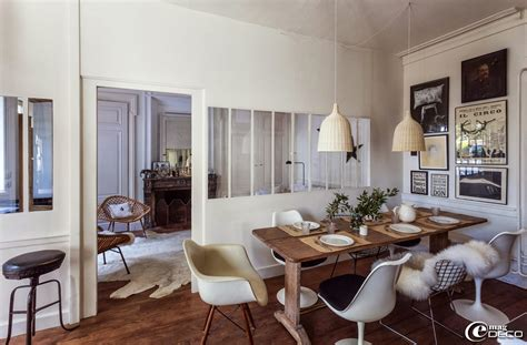 table salle a manger avec chaise interior decorative florence bouvier 39 s house in lyon