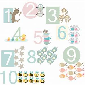 number fabric wall stickers littleprints With fabric letter stickers