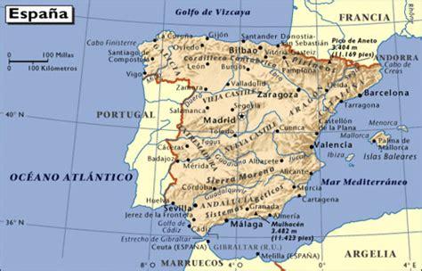 mapa de espana blogitravel viajes  turismo