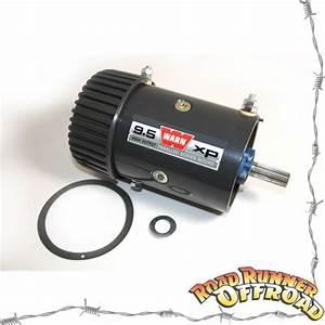 Warn 68608 6hp Winch Motor 12v 9 5xp 8274