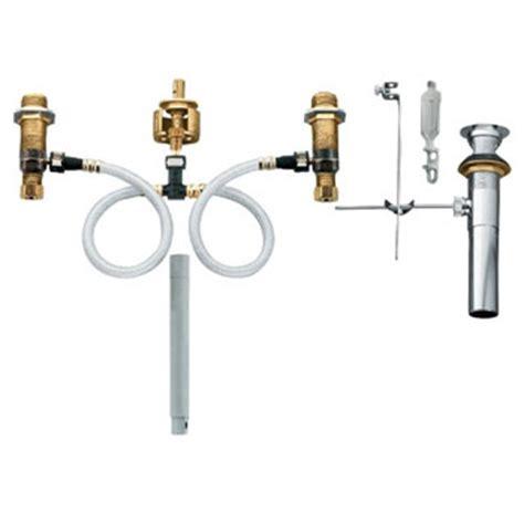 moen   pactr lavatory rough  valve  drain