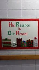 Church Christmas Bulletin Board Ideas