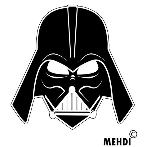 Darth Vader Clip Clipart Vader Pencil And In Color Clipart Vader