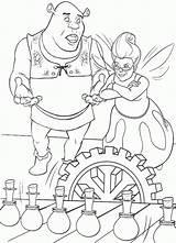 Shrek Coloring Pages Para Colorear Dibujos Cartoons Fairy Ausmalbilder Kleurplaten Kleurplaat Coloriage Tegninger sketch template