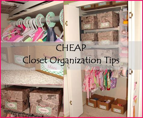 Closet Organization Project Ideas by 133 Best Images About Cheap Home Organization Ideas On
