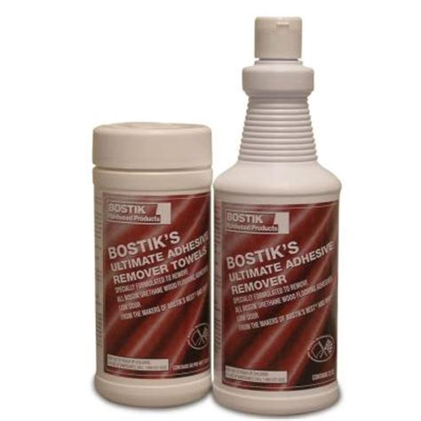 bostik ultimate adhesive remover towels g65639 the home