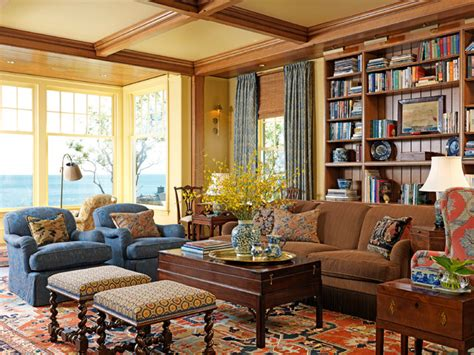 New England Ocean View  Traditional  Living Room