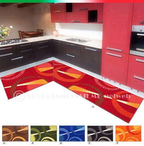 tappeto antiscivolo cucina tappeto cucina angolare o passatoia su misura al metro
