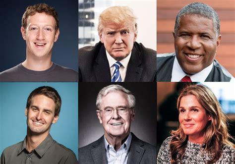 richest people  america list